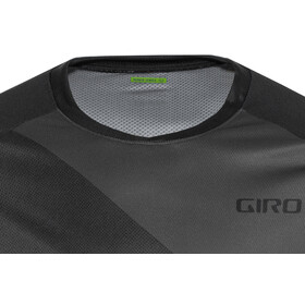 Giro Roust MTB Kortærmet cykeltrøje Herrer, black/charcoal shadow